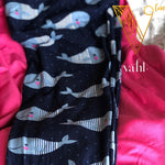 Misses & Plus Wide Band Whale Leggings : Sully | VAHL