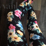 Plus Floral Leggings: Taylor
