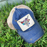 Southern Inspired Patched Hats