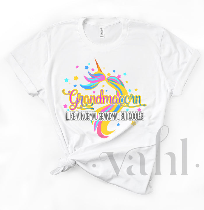 Grandmacorn Sublimation Transfer | VAHL