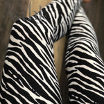 Plus Zebra Leggings: Zebra