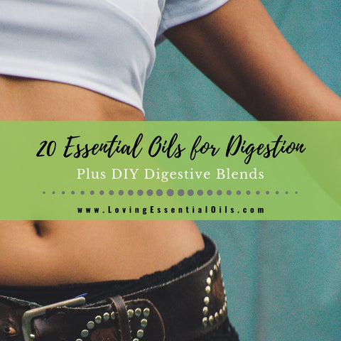 20 Essential Oils for Digestion Plus DIY Digestive Blends
