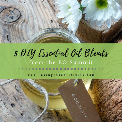 5 DIY Essential Oil Blends From Transformation Summit