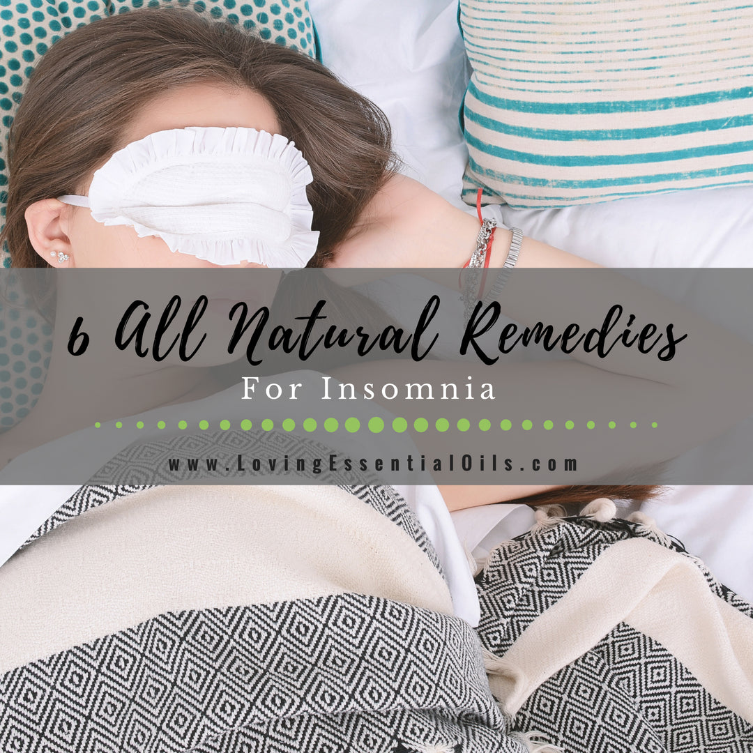 6 All Natural Sleep Remedies for Insomnia