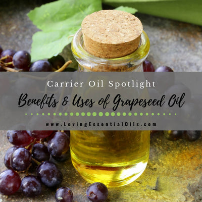 Grapeseed Carrier Oil Uses and Benefits Spotlight