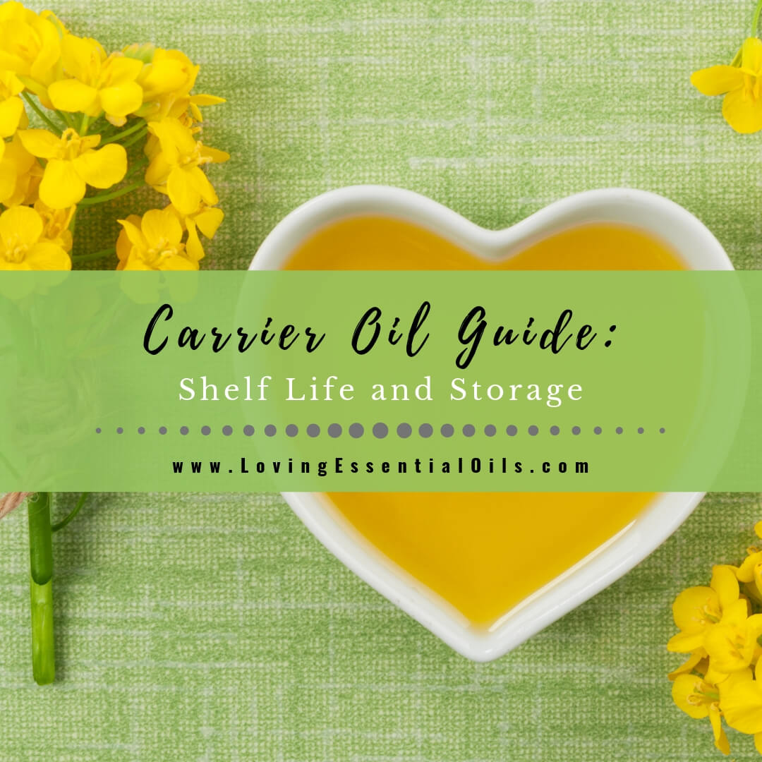 Carrier Oil Shelf Life and Storage Guidelines