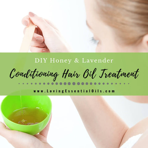 Honey Lavender Conditioning Hair Oil Treatment