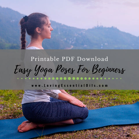 15 Easy Yoga Poses For Beginners - Printable PDF Download