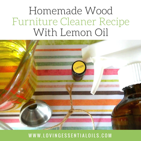 Homemade Wood Furniture Cleaner Recipe