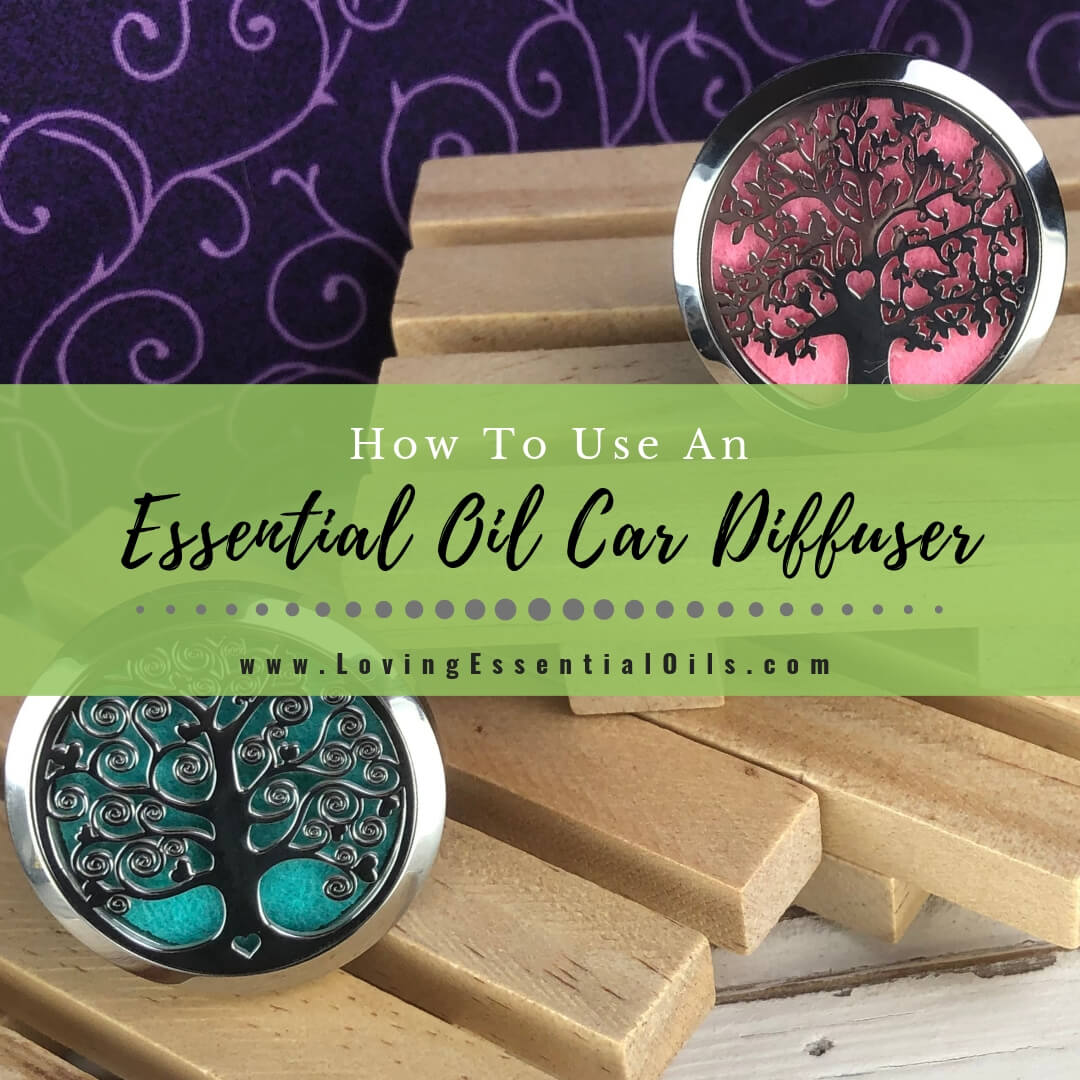 How to Use an Essential Oil Car Diffuser