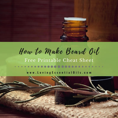 How To Make All Natural Beard Oil With Essential Oils