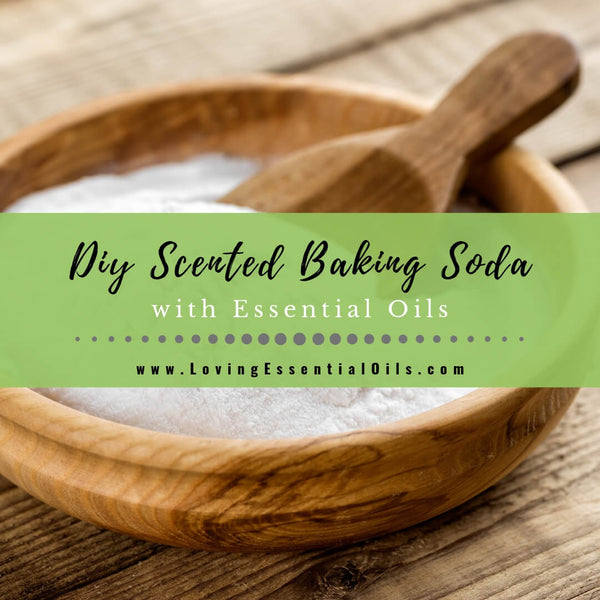 How to Make Scented Baking Soda with Essential Oils