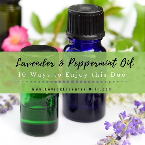 Lavender and Peppermint Oil - 10 Ways to Enjoy this Powerful Duo
