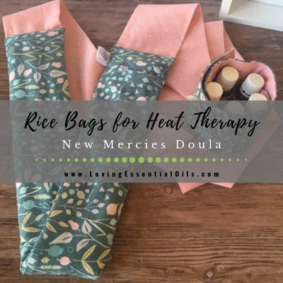 Best Rice Bag for Heat Therapy - New Mercies Doula