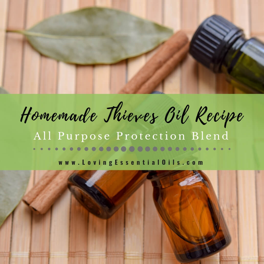 Thieves Oil Recipe Diy Essential Oil Blend For Protection