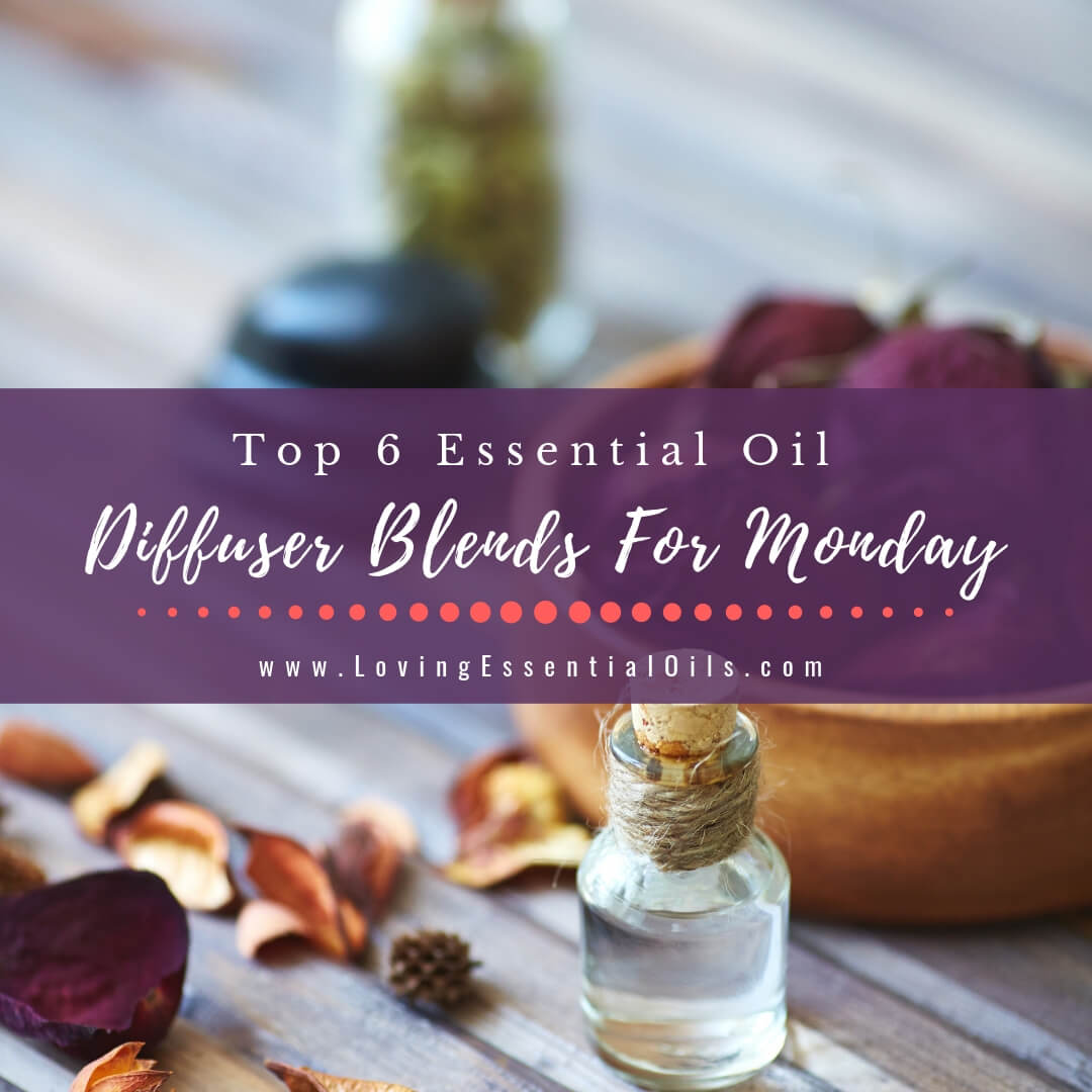 Top 6 Essential Oil Diffuser Blends For Monday