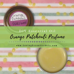 DIY Orange Patchouli Solid Perfume