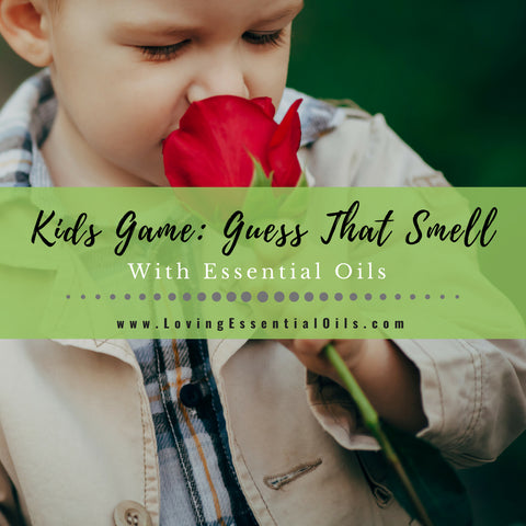 Guess That Smell with Essential Oils - Kids Game