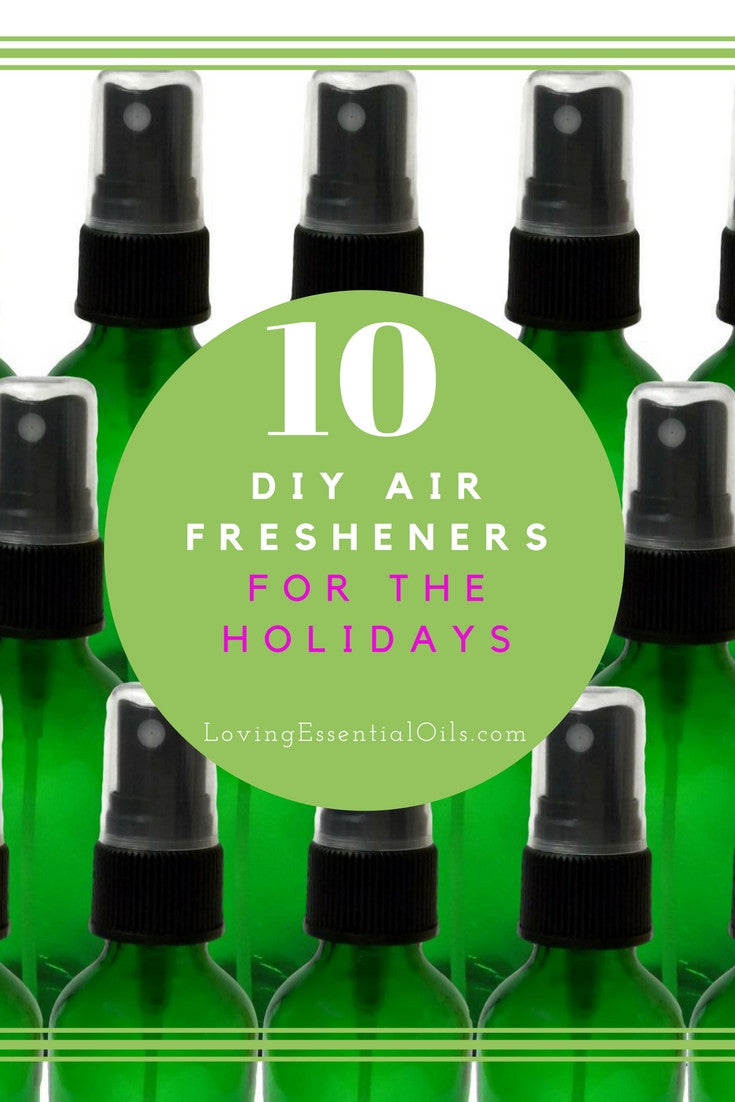 10 DIY Christmas Essential Oil Air Fresheners For The Holidays