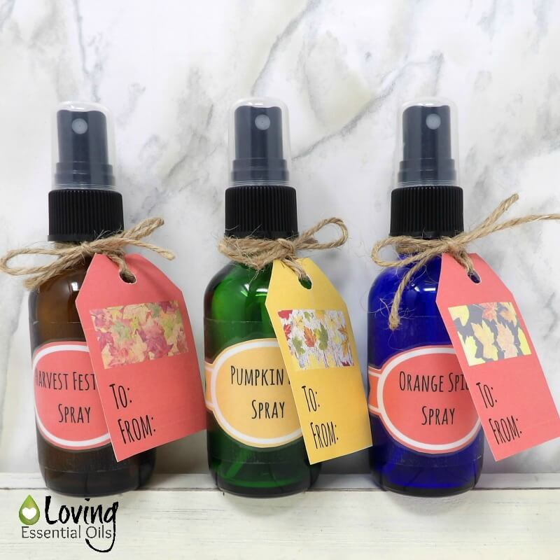 10 fall essential oil spray recipes by loving essential oils