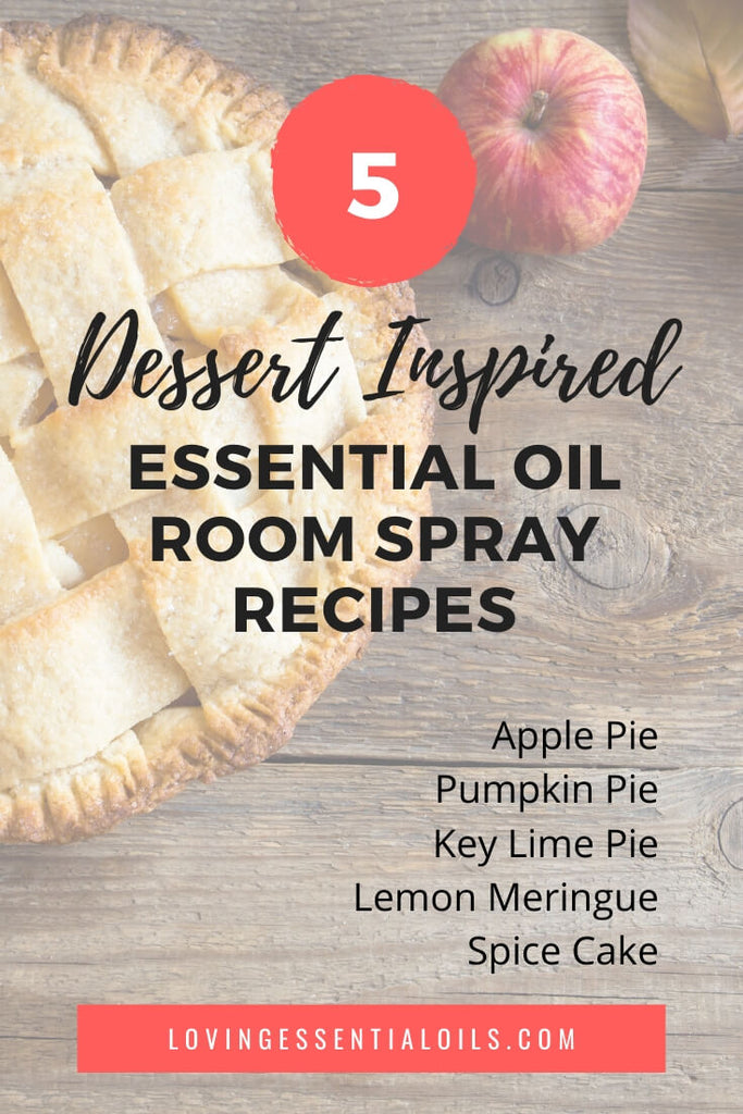 Dessert Inspired Essential Oil Room Spray Recipes