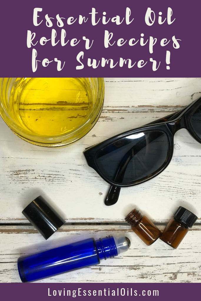 5 Summer Essential Oils with Fun in the Sun Roller Recipes by Loving Essential Oils