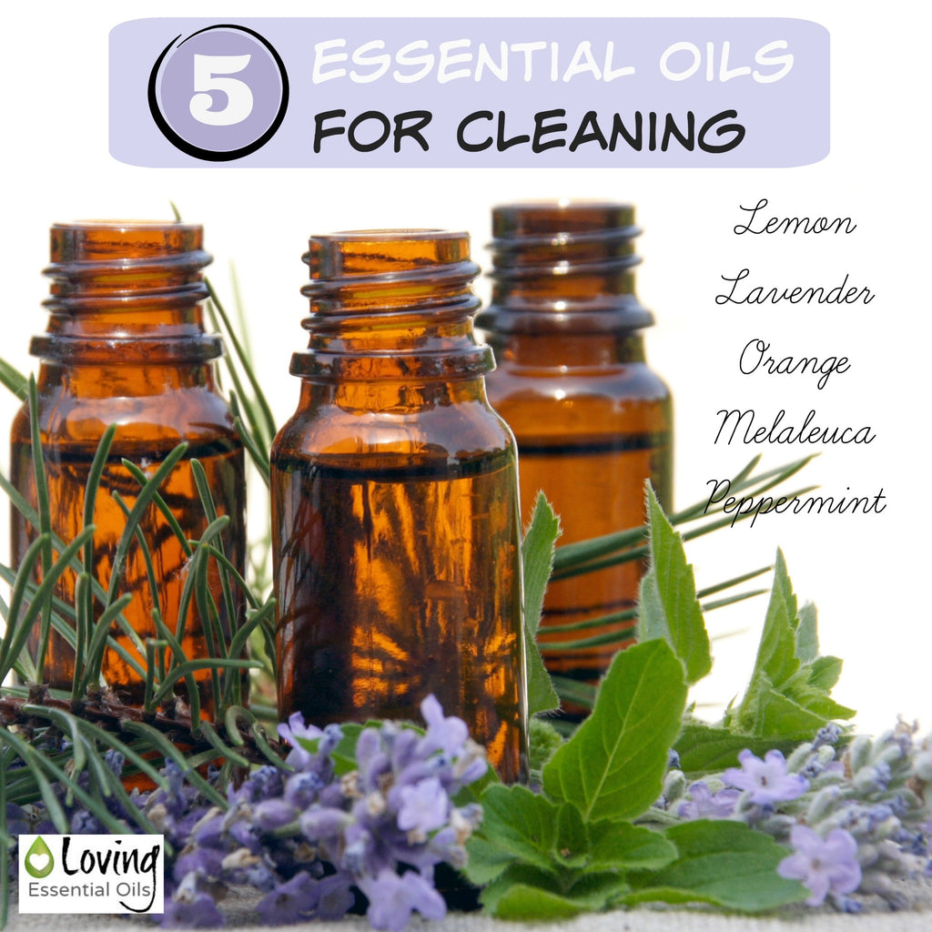 5 Essential Oils for cleaning