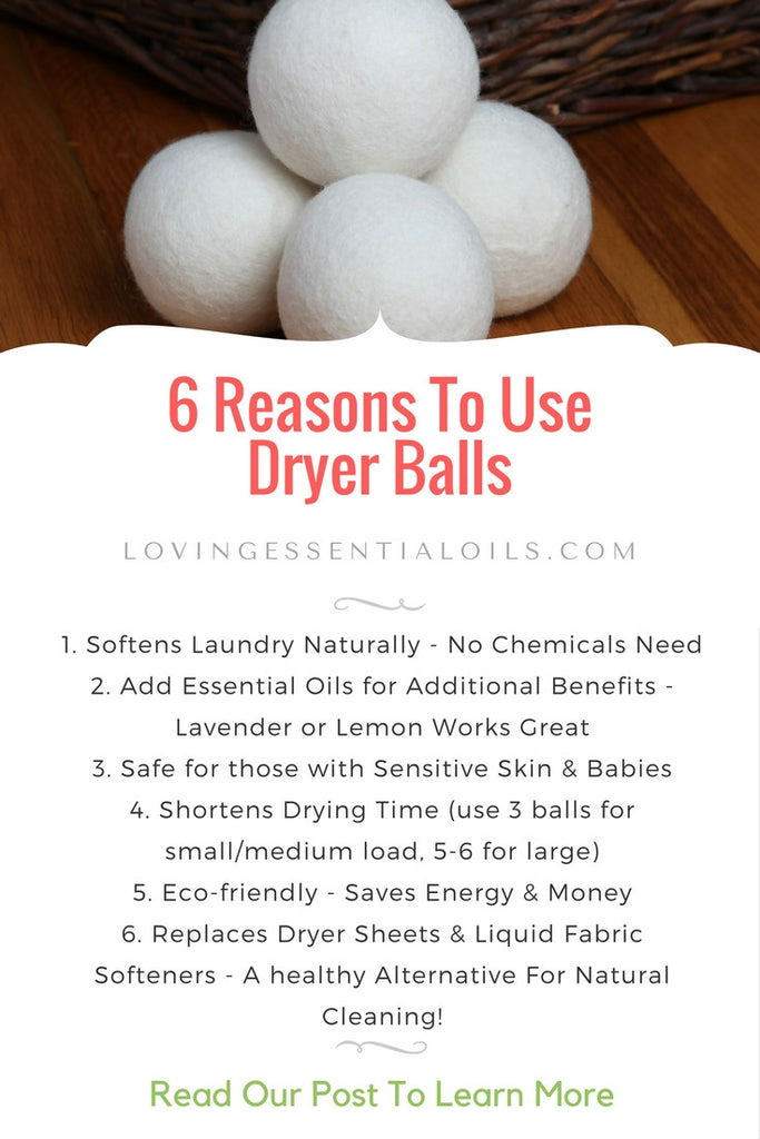 6 Reasons to Use Dryer Balls