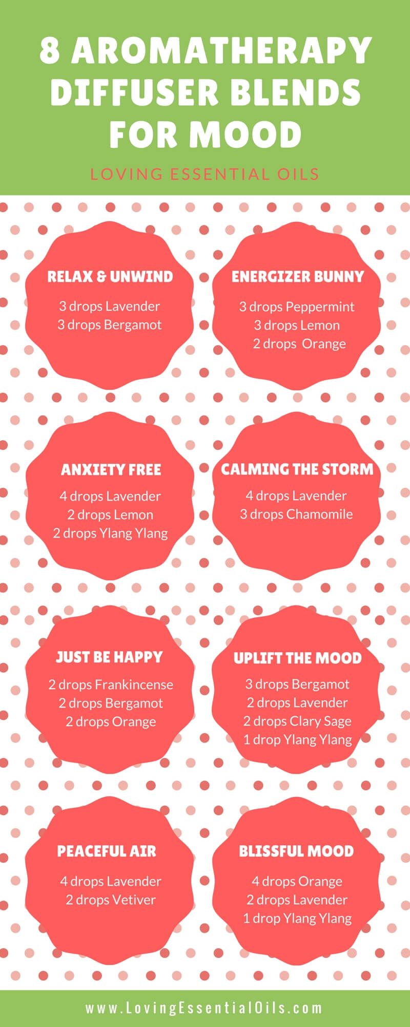 Essential Oils For Mood Lifting 8 Aromatherapy Diffuser Blends