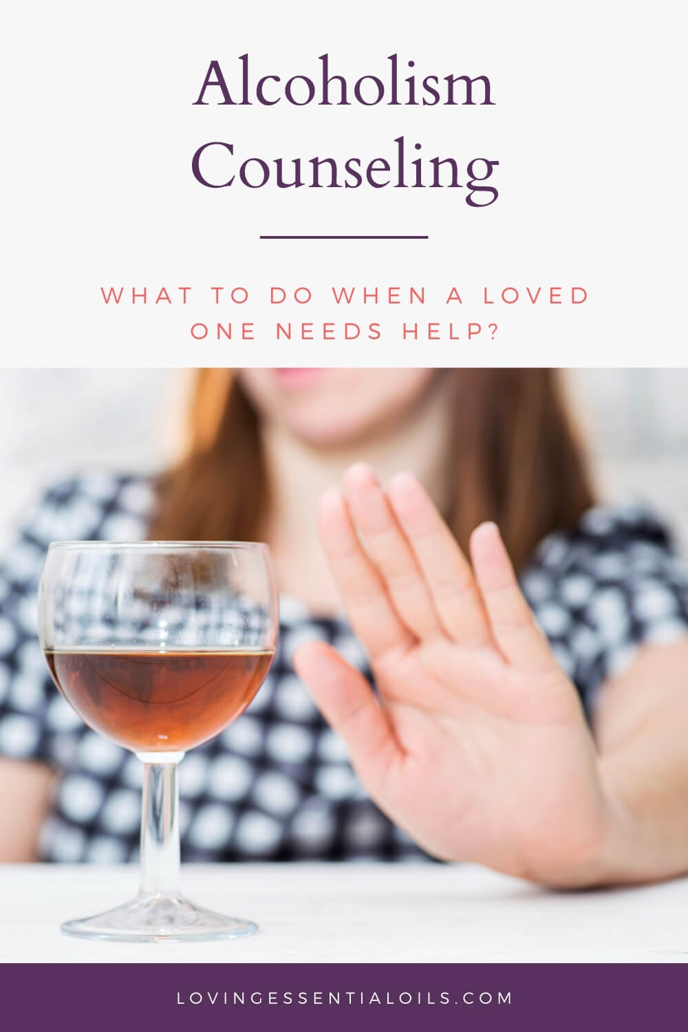 Alcoholic Counseling - What to do when a loved one needs help?