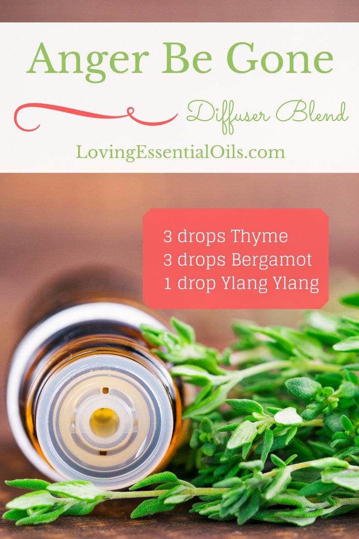 Anger Be Gone Essential Oil Diffuser Blend