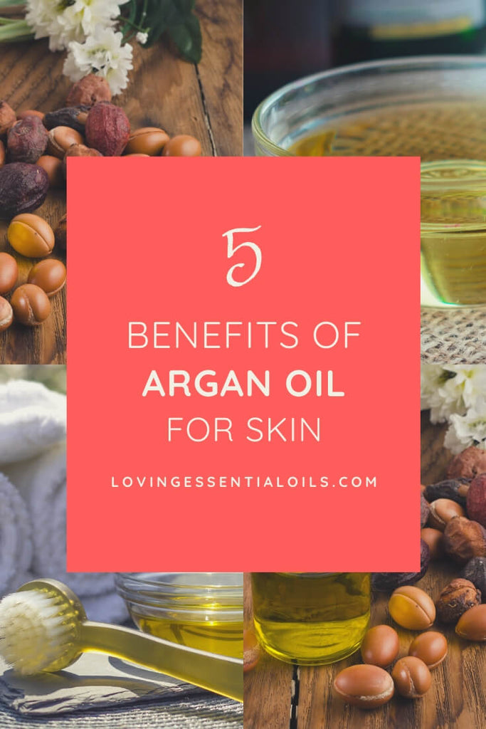 DIY Argan Oil Recipes with Essential Oils - Carrier Oil Spotlight by Loving Essential Oils