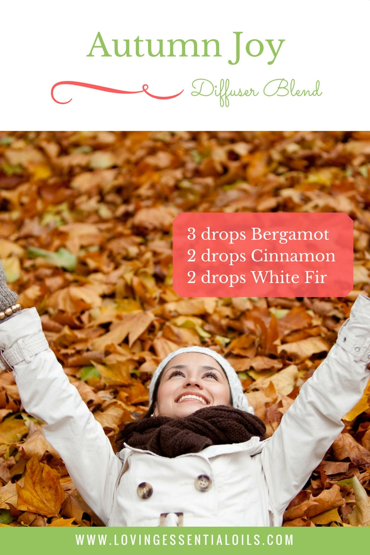 Autumn Joy - Essential Oil Diffuser Blends For Fall
