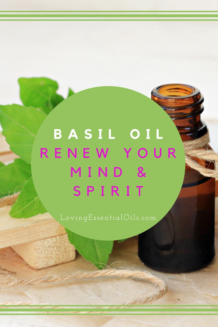 Basil Essential Oil Renew Your Mind & Spirit