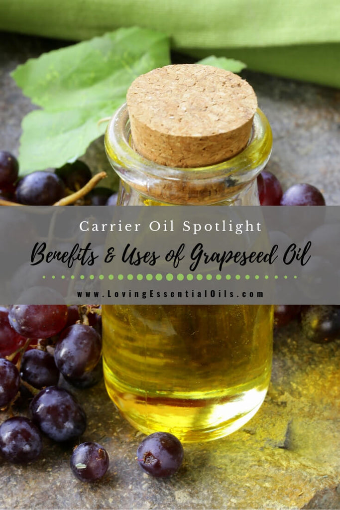 Grapeseed Carrier Oil Benefits & Uses - A Quick Guide! by Loving Esssential Oils