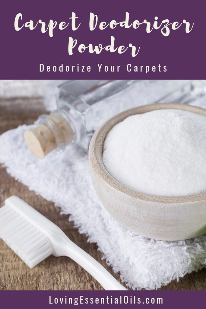 Carpet Deodorizer Powder: Simple Ways To Deodorize Your Carpets by Loving Essential Oils