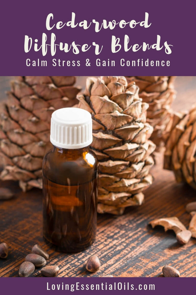 10 Cedarwood Diffuser Blends - Calm Stress and Gain Confidence by Loving Essential Oils