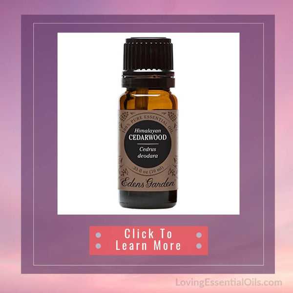 Cedarwood Essential Oil from Edens Garden - Loving Essential Oils