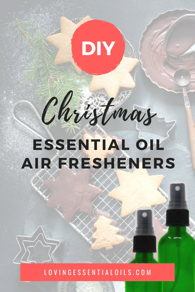 DIY Essential Oil Air Freshener Recipes for Christmas