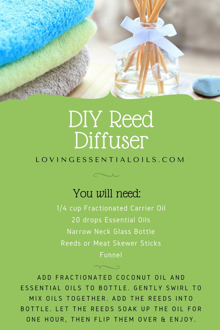 How To Create A Reed Diffuser With 10 Essential Oil Blend