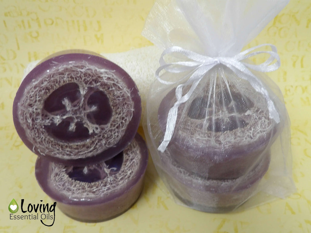 DIY Gift Lavender Bar Soap