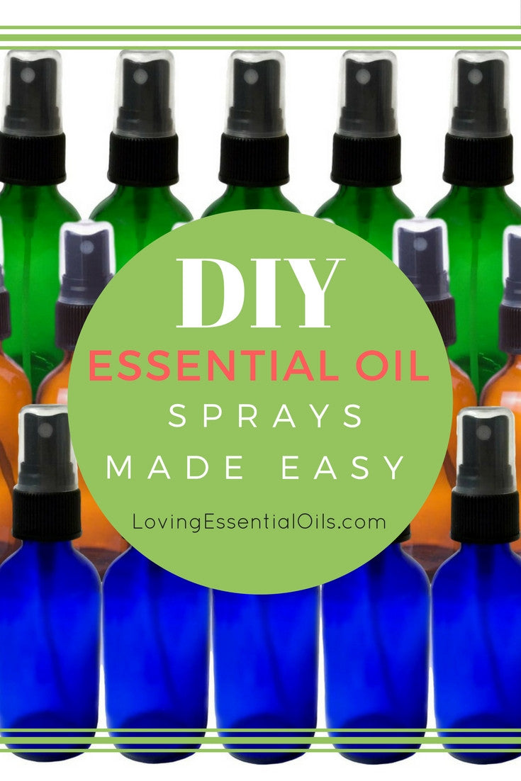 DIY Homemade Essential Oil Sprays Made Easy