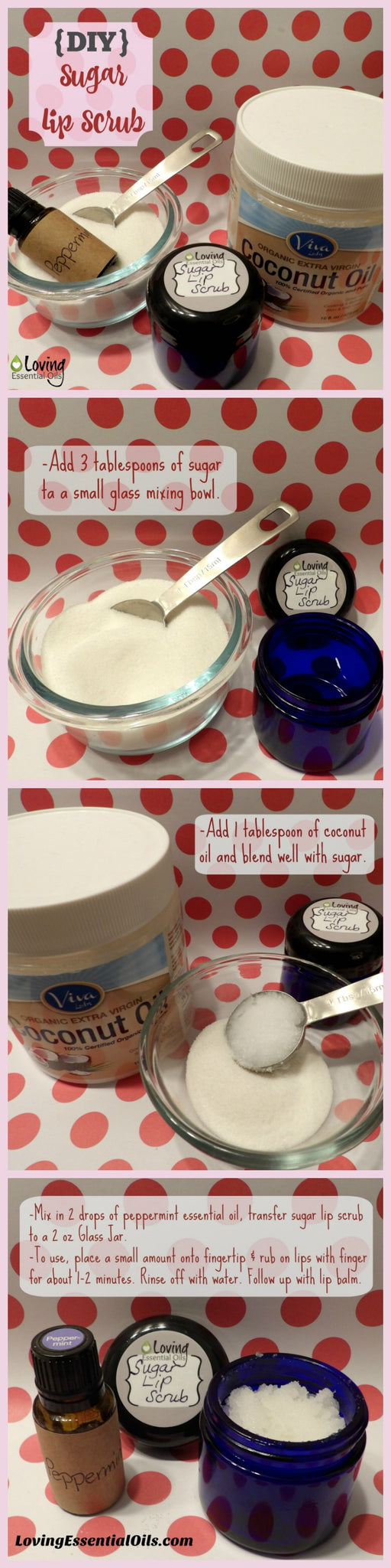 DIY Sugar Lip Scrub Tutorial