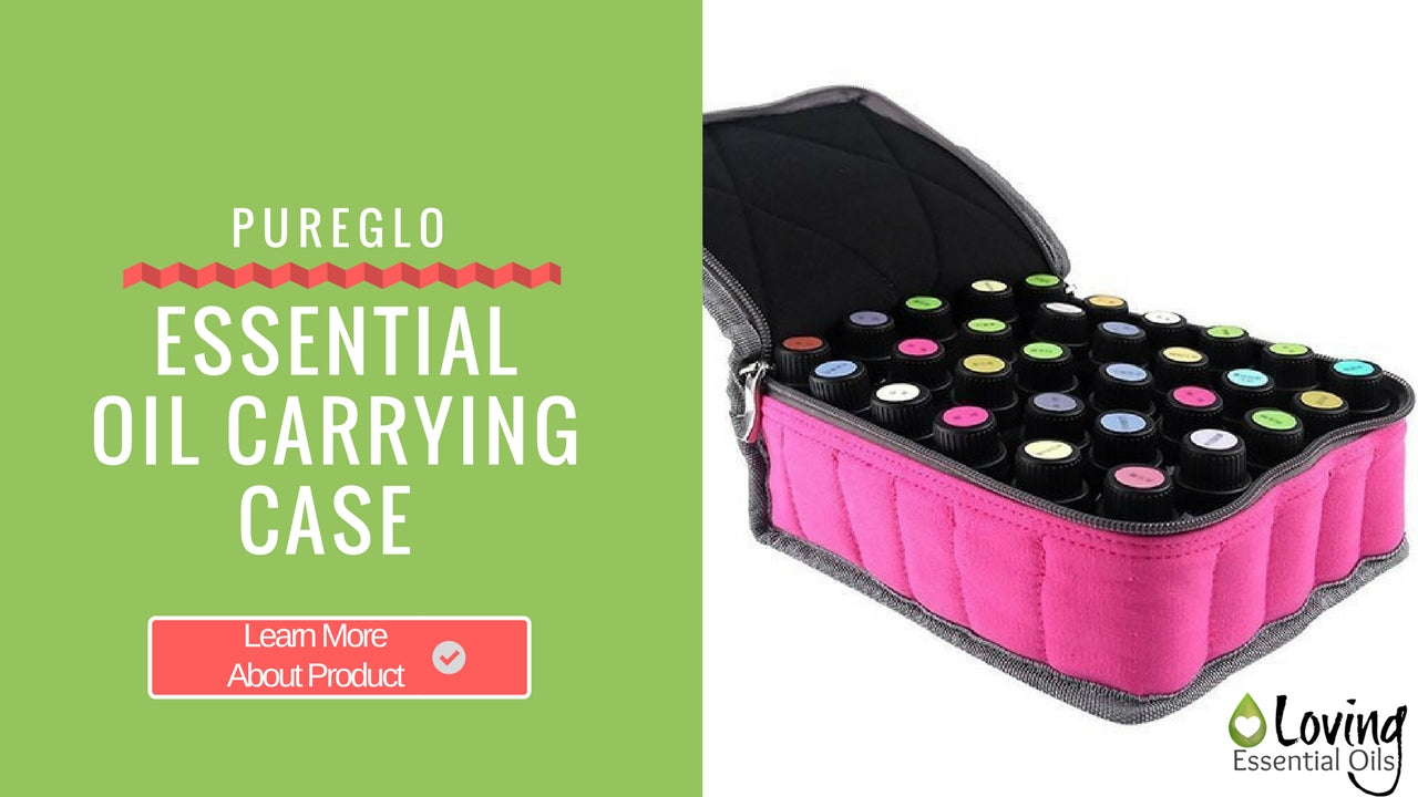 Pink Essential Oil Carrying Case