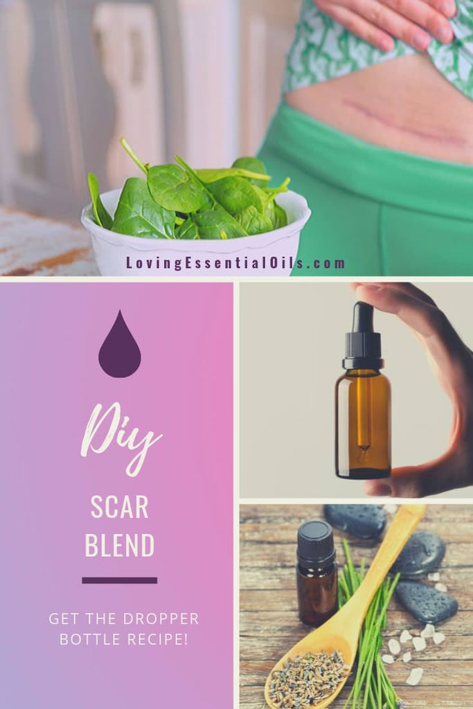 4 Best Essential Oils for Scarring with Scar Reducing Blend by Loving Essential Oils