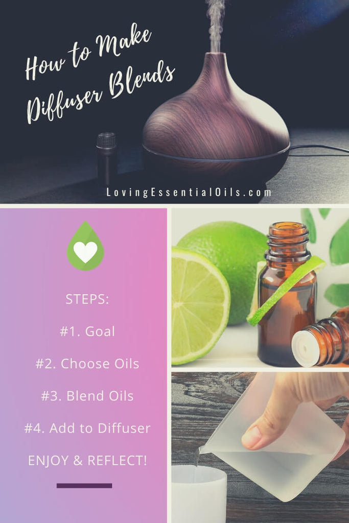 Diffusing Essential Oils - How to Make Your Own Blends - Get the Guide! by Loving Essential Oils