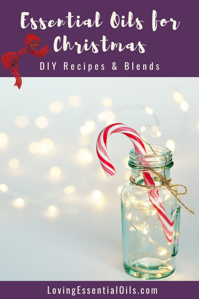 How to Make Essential Oil Blends for Christmas