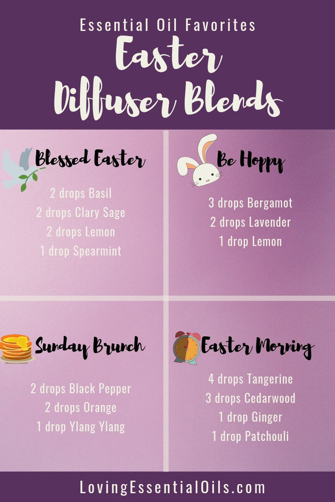 6 Egg-citing Easter Diffuser Blends To Enjoy by Loving Essential Oils