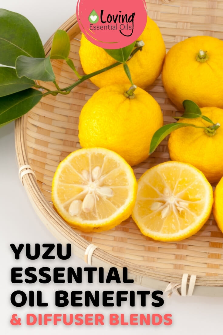 Essential Oil Diffuser Blends with Yuzu by Loving Essential Oils