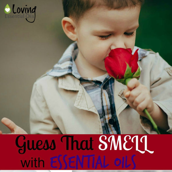 Essential Oil Games Guess That Smell Kid Friendly